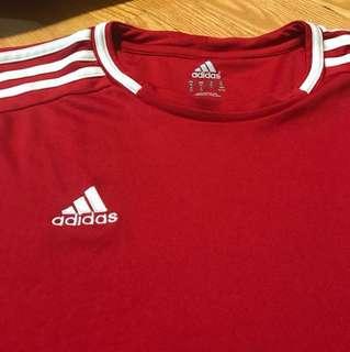 Adidas red shirt-XL
