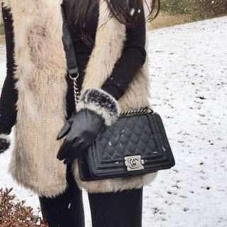 Chanel boy bag mini sling tas wanita