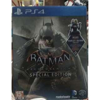 BD PS4 Batman Arkham Knight Special Edition