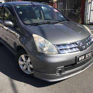 Nissan Livina 1.8(a) Blst muka Rm5k