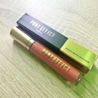 Pony effect lipstick stay fit  matte
