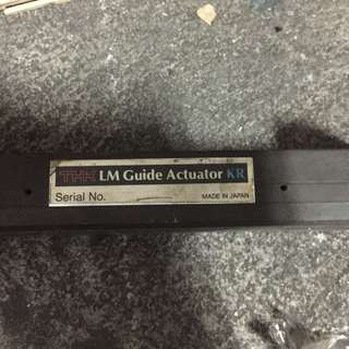THK LM Guide Actuator