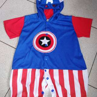 Captain america costume for 1-2 y/o