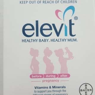 Elevit vitamins and minerals for pregnancy