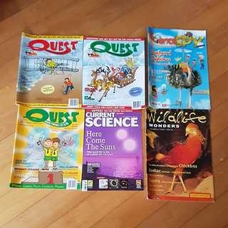 Quest, Sciencespy, Current Science, wildlife wonders books