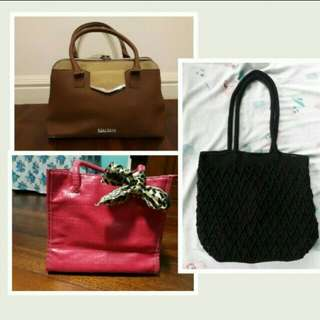 Take all 3 Ladies Bag Bundle