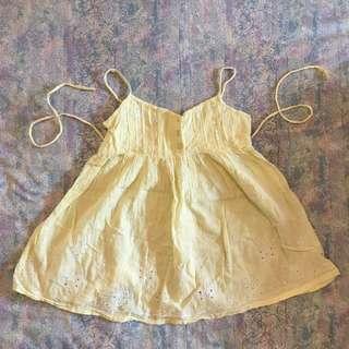 Kids Cute Yellow Top/Dress