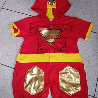 Iron man costume for baby