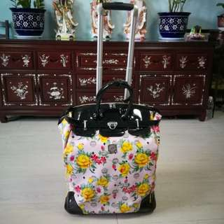 Lady's luggage
