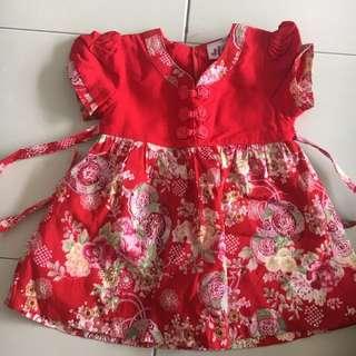CNY baby girl dress
