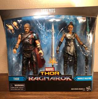 Reserve Early! Marvel Legends Series Thor Ragnarok (Target Exclusive) - Thor & Valkyrie Two Pack