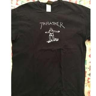 Kaos Thrasher Gonz size L luar