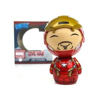 "Captain America: Civil War Iron Man Unmasked 3"" Vinyl Figure ~ Dorbz (Funko Vinyl Collectible) Collector Corps Exclusive"