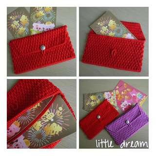 red pocket pouch 紅色利是包包