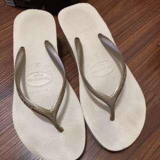 Havaianas 哈瓦仕 厚底夾腳拖鞋