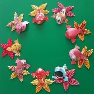 CNY Decorations/ KOI fish