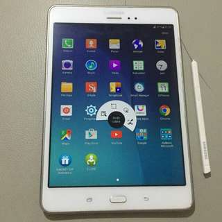 Samsung Galaxy Tab A 8in Sm-P355  warna putih
