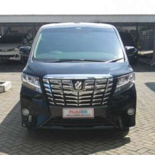 Toyota Alphard G 2.5 AT 2015