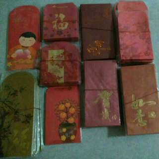 Various Chinese New Year Cny Ang Pao Red Packets