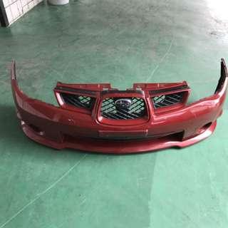 Subaru Impreza hawkeye bumper