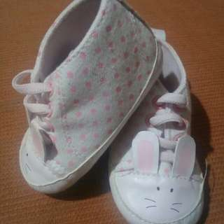 Soft sole bunny shoes