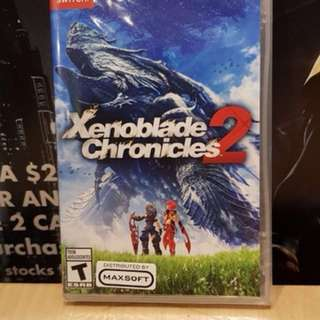 Wts used xenoblade chronicles 2