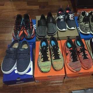 Nike (Airmax, Sockdart, Janoski) Adidas sz8.5-9