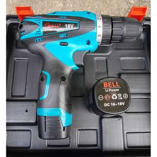 Bell Battery Drill 18V (New)+Free Delivery