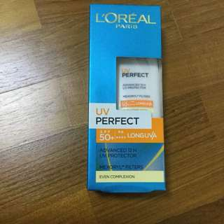 L'Oréal sunscreen