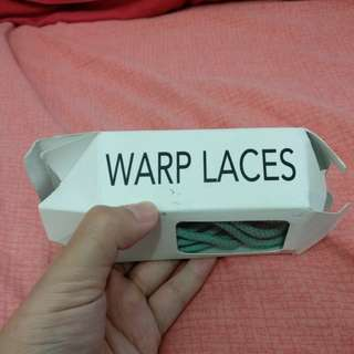 Warp! Your Sneaker Booster Shoe Laces