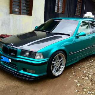 bmw e36 eztac green