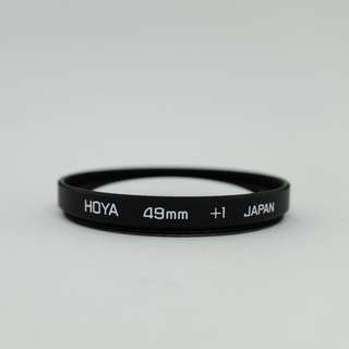 Hoya +1 Close Up Filter (49mm)