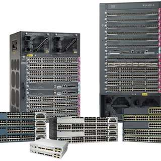 We sell New and Used Cisco switches Routers