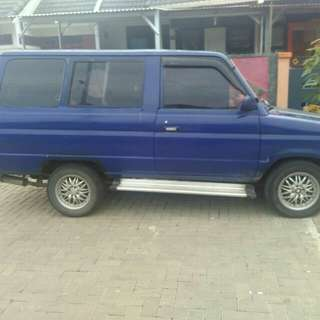 Kijang super 86 tinggal gas