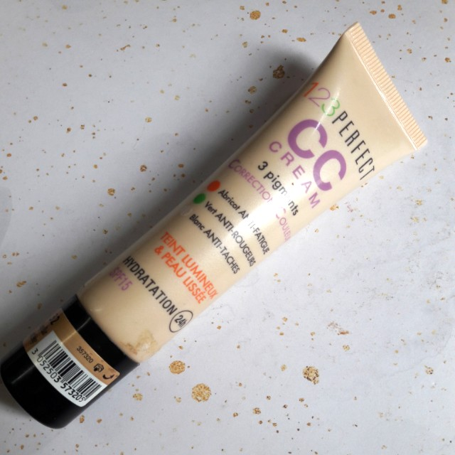 123Perfect CC cream with SPF15