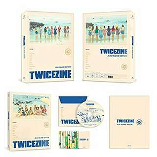 [PO] TWICEZINE JEJU ISLAND EDITION DVD