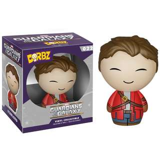 "Guardians of the Galaxy Star-Lord Unmasked 3"" Vinyl Figure ~ Dorbz (Funko Vinyl Collectible)"