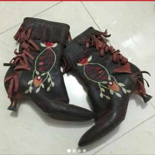 Anna Sui boot