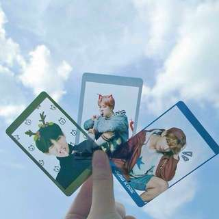 customized transparent card