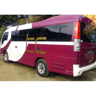 Sewa mobil wisata ELF (16-19 seats) murah dan berkualitas di Jakarta. Hubungi Nemob.
