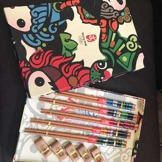 08北京奧運筷子套裝