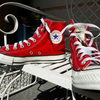 Converse chuck taylor (RED)