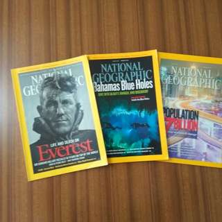 FREE GIVEAWAY National Geographic Magazines
