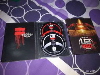 Cd plus Dvd musik U2 ori