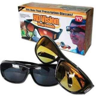HD Vision Wraparound Sunglasses
