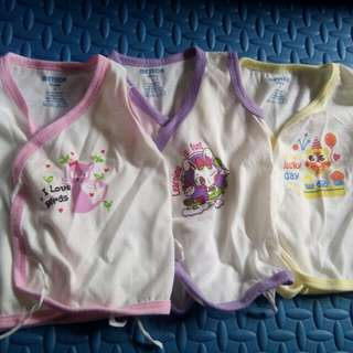 New born girl baby tops clothes