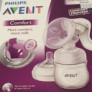 Avent Phillips Comfort Manual Pump