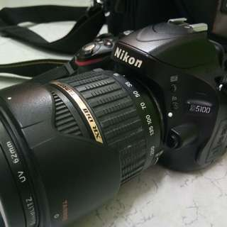 Nikon D5100 tamron 18-200mm