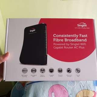 Singtel WiFi gigabit router AC Plus