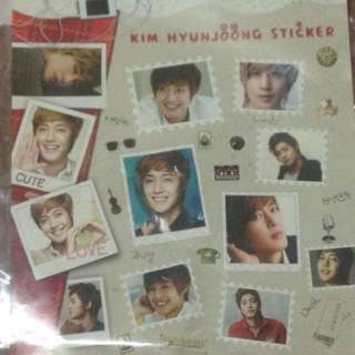 Kim Hyun Joong sticker